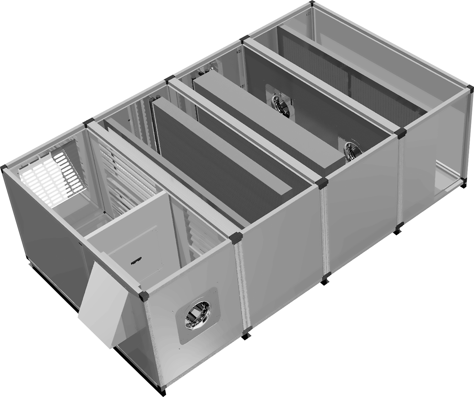 Custom Air Handling Units - Air handling unit 4