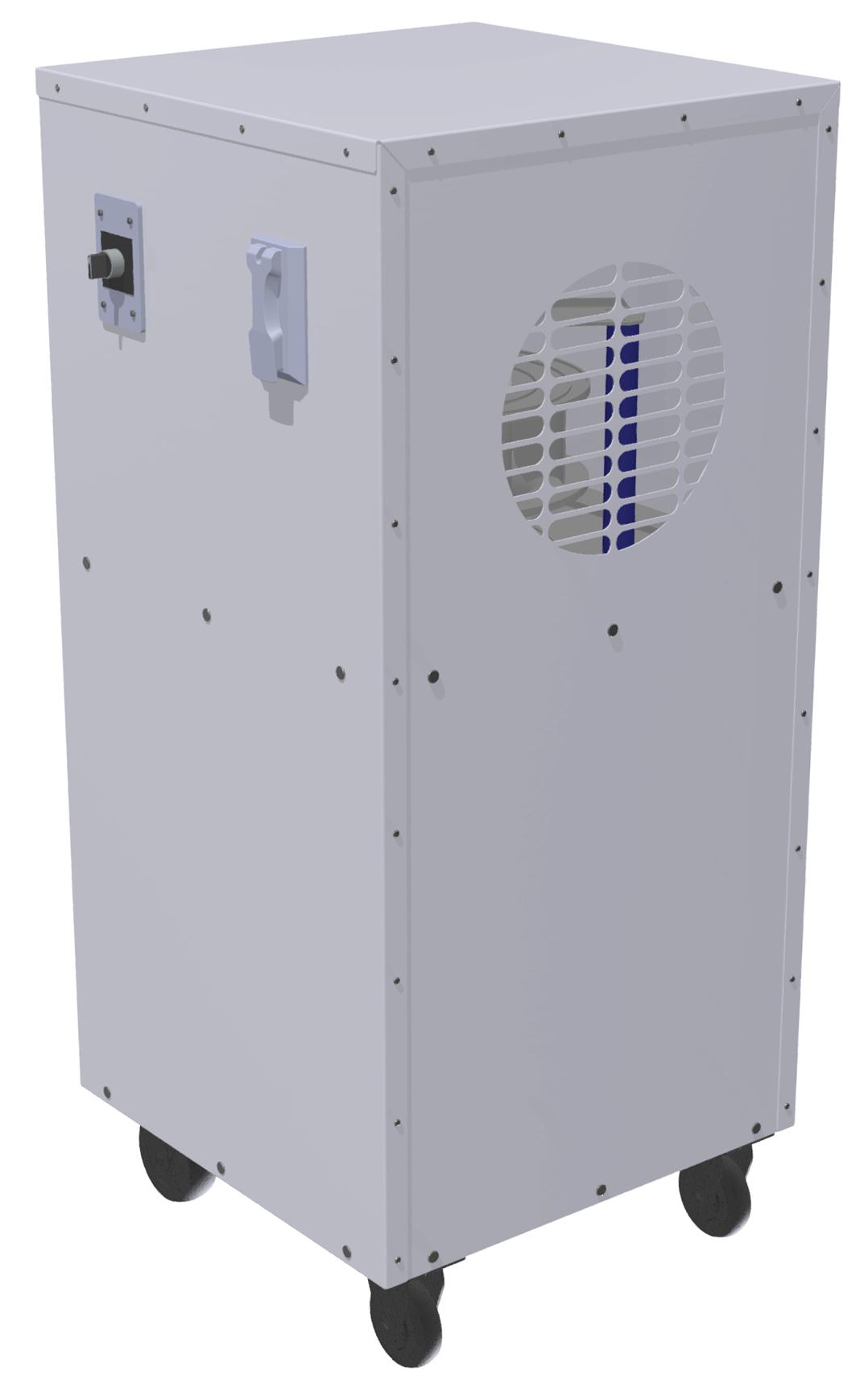 Portable HEPA Filter Fans - BKL PHF 250 110 1 1