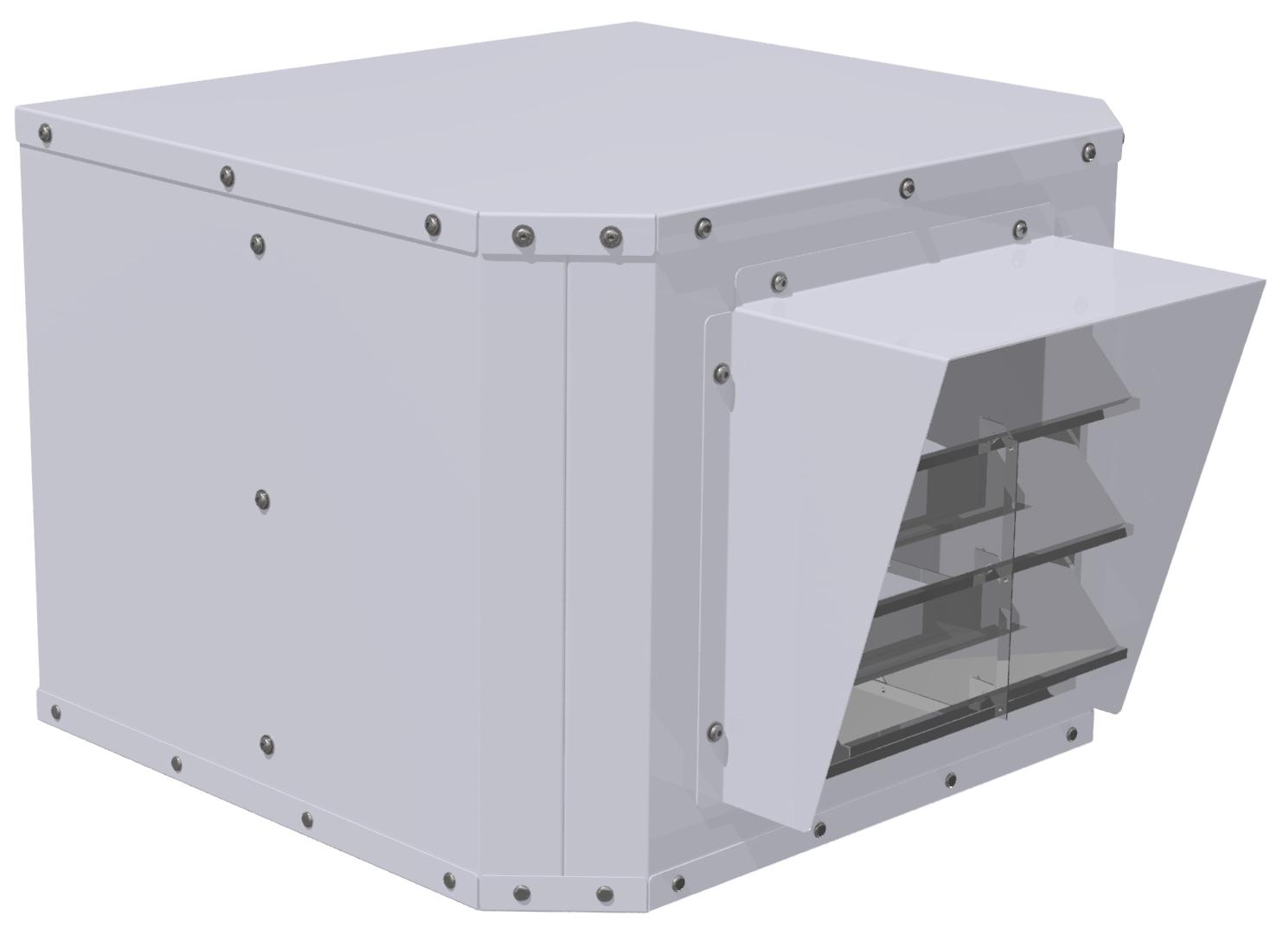 Windows Hepa Filter Fan BKL-WHF-250-110-1-2 - BKL WHF 250 110 1 2 2