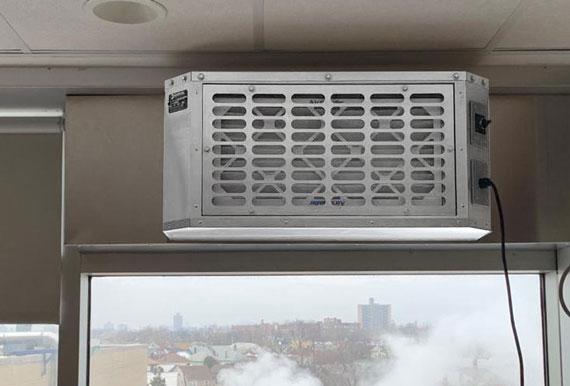 Windows Hepa Filter Fan BKL-WHF-250-110-1-1 - Window Hepa filter fans 1