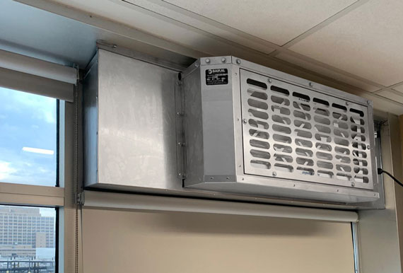 Windows Hepa Filter Fan BKL-WHF-250-110-1-1 - Window Hepa filter fans 2