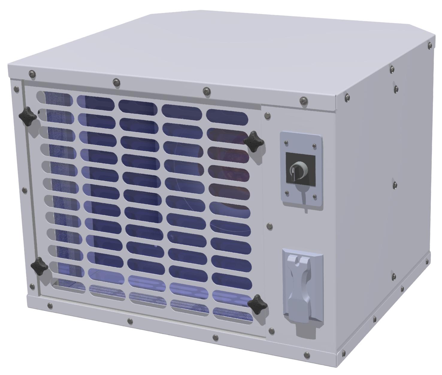 Windows Hepa Filter Fan BKL-WHF-250-110-1-2 - BKL WHF 250 110 1 2