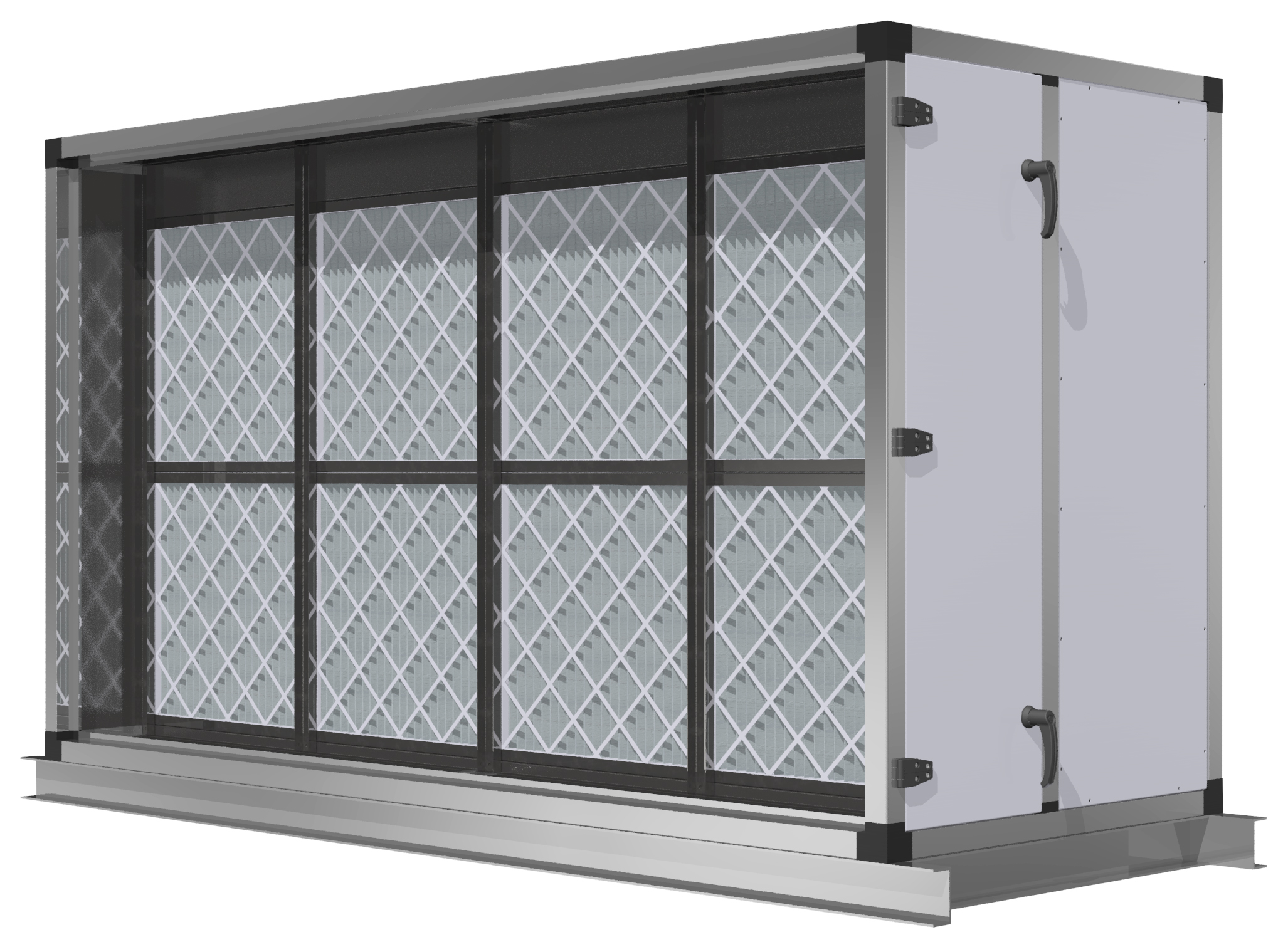 Air Filtration System - Filtration section 1