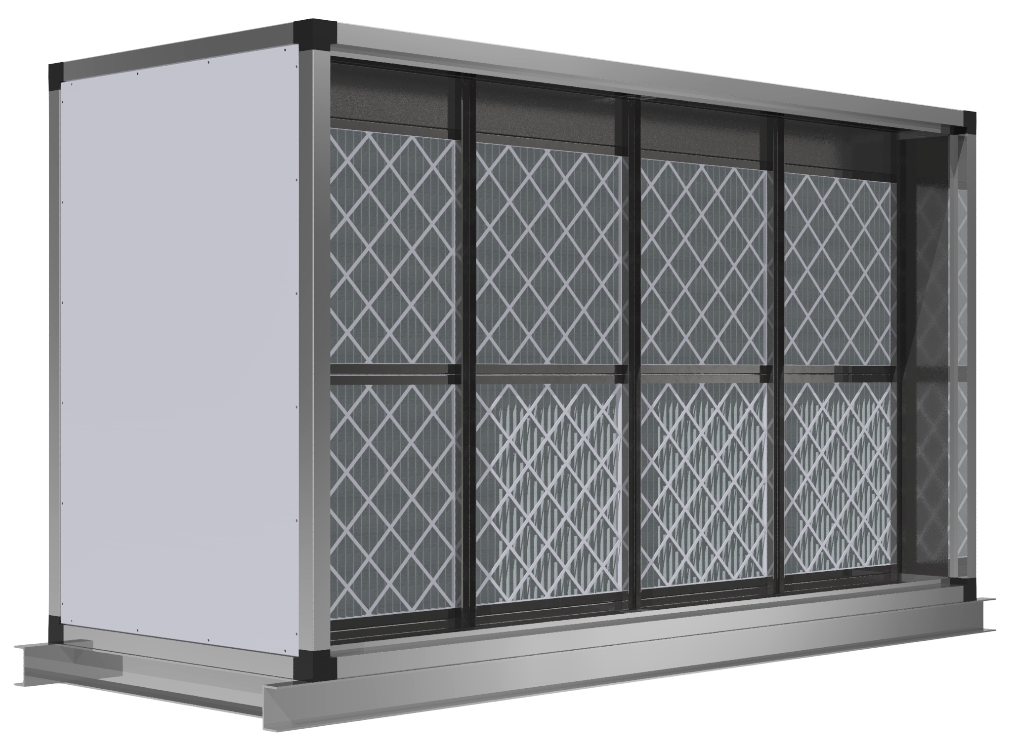 Air Filtration System - Filtration section 2