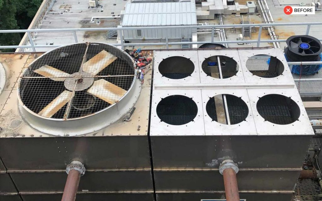 Two Cell Cooling Tower - cooling tower 3 1024x640