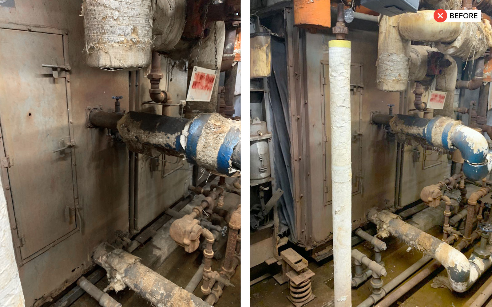 Water Coil Section Replacement - water coil section replacement 1