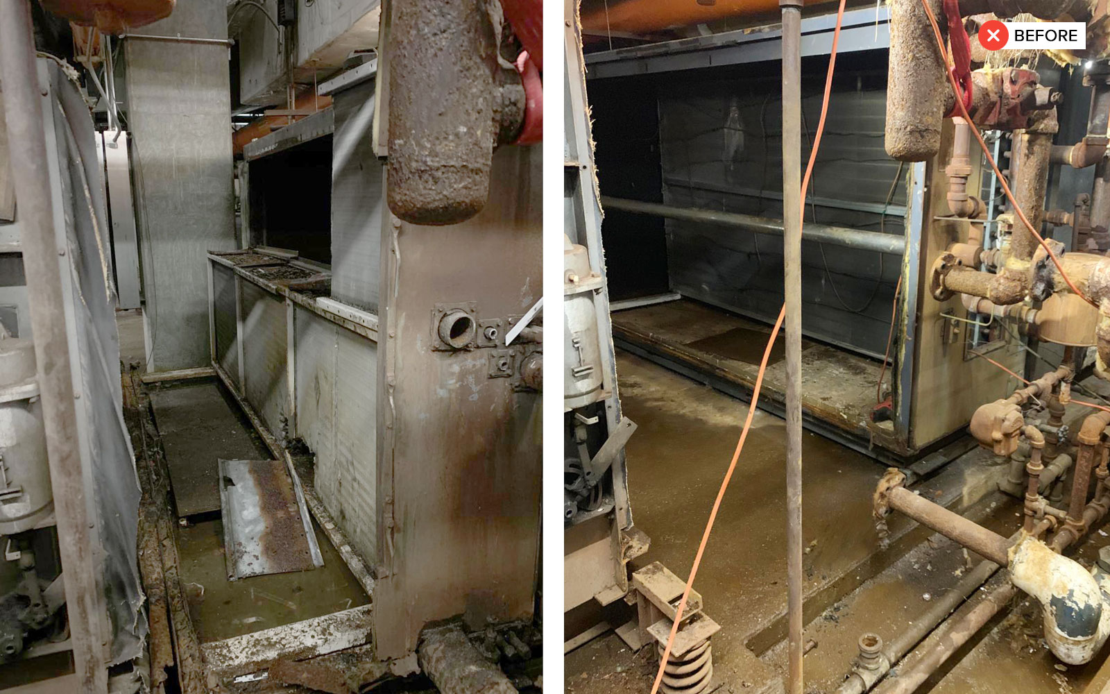 Water Coil Section Replacement - water coil section replacement 2