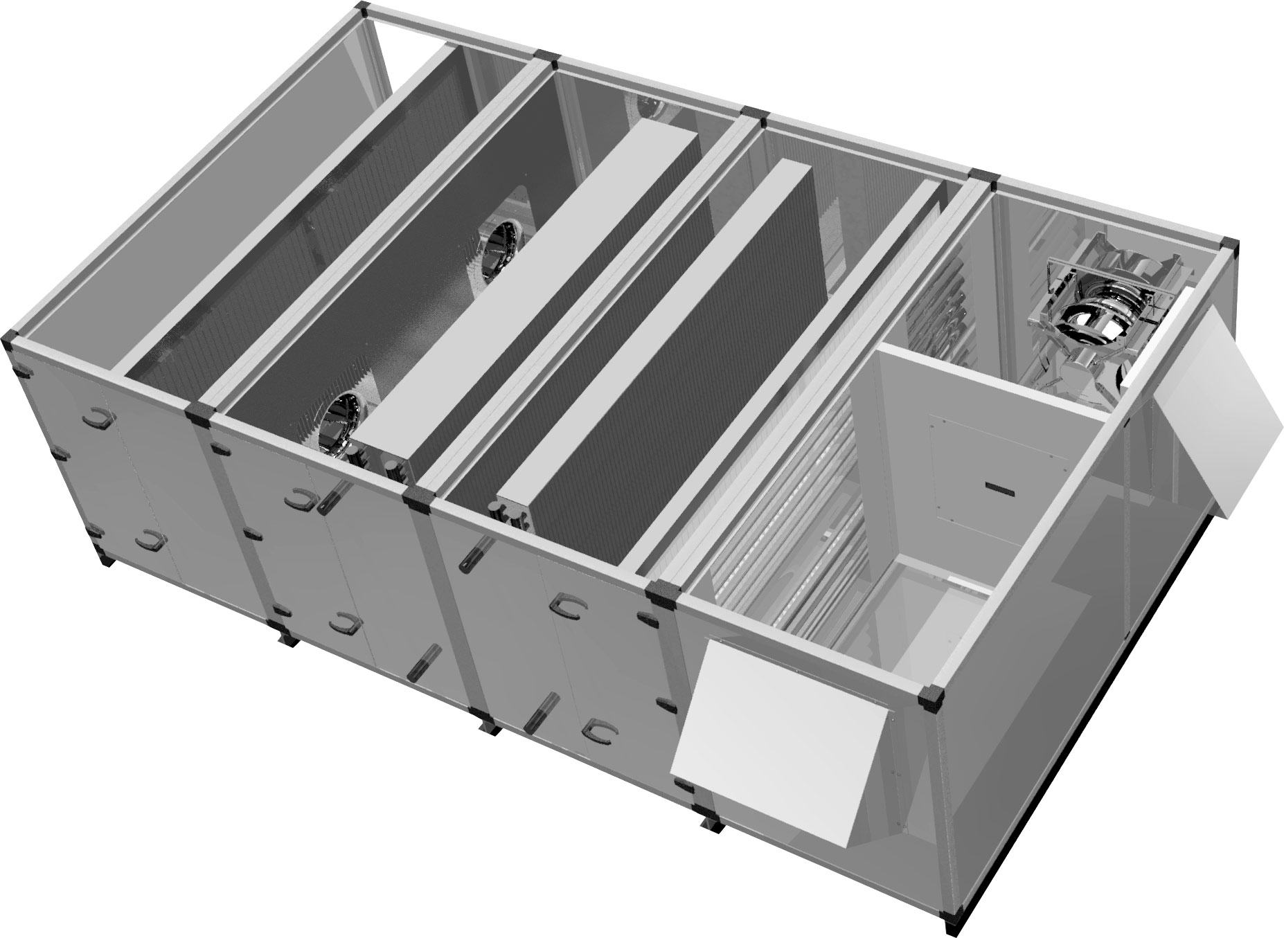 Custom Air Handling Units - Air handling unit 3